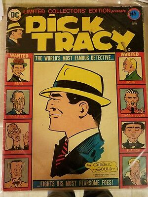 Dc Limited Collectors Edition #c-40  Dick Tracy 1976