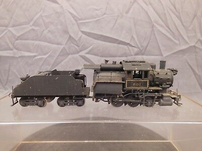 Ho Scale Brass Gem Reading B8A Camelback 0-6-0 Locomotive