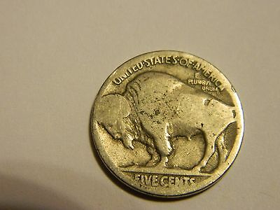 1924 P Buffalo Nickel Acid Recovered Date --INV154