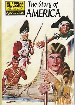 Classics Illustrated Special Issue THE STORY OF AMERICA #132A  new issue