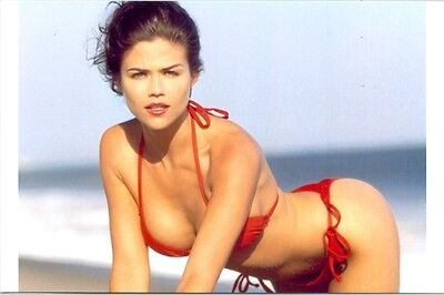 Susan Ward - In Red Bikini, Bent Over !!!!