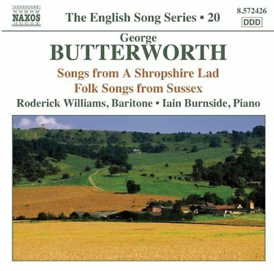Audio CD Songs from a Shropshire Lad, Folk S Musica  0747313242672 (jm8)