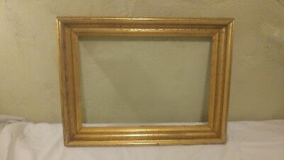 Two Great 19Th Century Antique Gilt Frames In Overall Good Condition