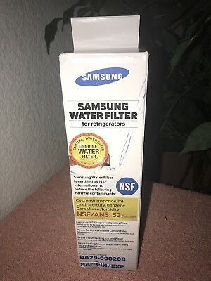 New OEM Genuine Samsung Ice & Water Refrigerator Filter DA29-00020B, HAF-CIN/EXP