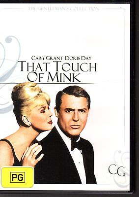 THAT TOUCH OF MINK - DVD R4 (2004) Cary Grant  Doris Day LIKE NEW - FREE POST