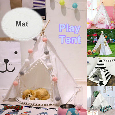 Portable Kids Pet Tents Children Home Teepee Sleeping Dome Game Toy Play Cubby