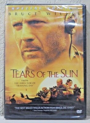 Tears of the Sun (DVD, 2003, Special Edition) BRAND NEW>FREE SHIPPING!