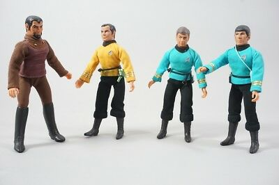 Mego Figuren Star Trek Kirk Scotty Klingone Spock Enterprise 1.84Z