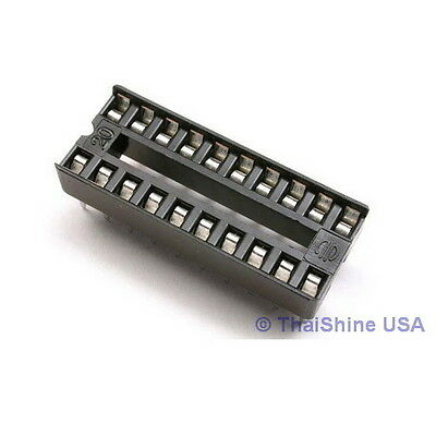 20 x 20 pin DIP IC Sockets Adaptor Solder Type Socket - USA SELLER Free Shipping