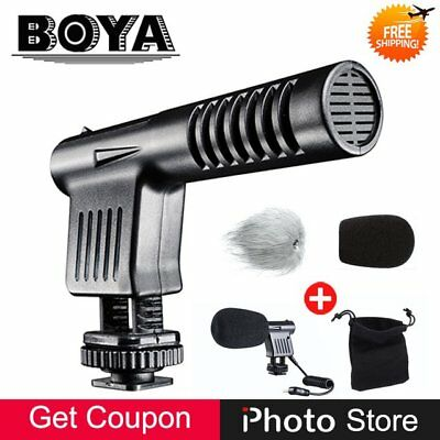 BOYA BY-MM1 Cardiod Shotgun Microphone MIC Video for Smartphone Camera SX
