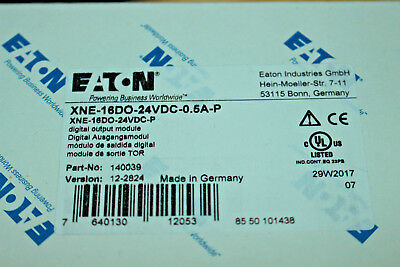 EATON / 140039 / XNE-16DO-24VDC-0.5A-P / Eco 16 Digital Ausgang 24V 0.5A / EAN76