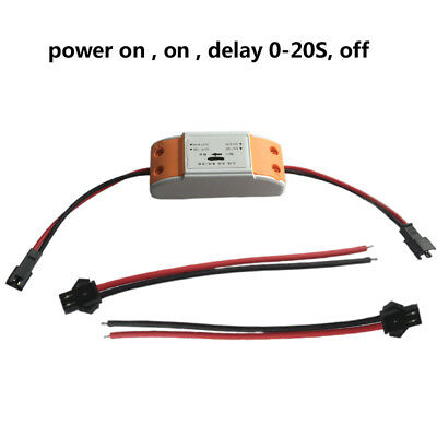 DC 6V~30V 12V 24V Mini Timer Relay Delay on off Switch Module 0-20 Sec Adustable