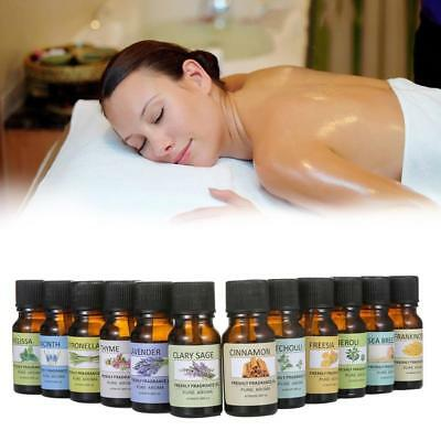 12Fragrancy Huiles essentielles pour Diffuseur Aroma Therapy Humidifier Mist vap