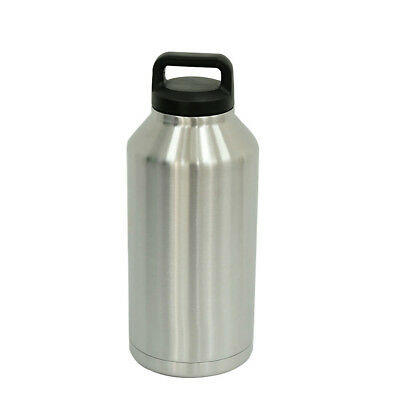 64oz Insulated Water Bottle Vacuum Flask Leak-Proof Cup Stainless Steel Outdoors