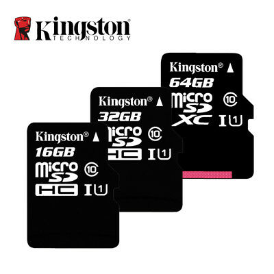 Kingston Class10 Micro SD Card 16GB 32GB 64GB  Memory Card C10 SDHC SDXC TF Card