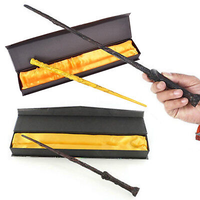 """14"""" For Movie Harry Potter Magic Wand Hermione Granger Cosplay Props Gift Box"""