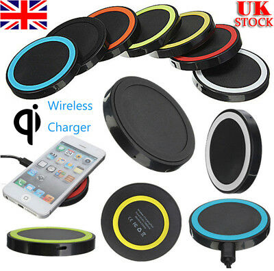 Universal QI Wireless Charger Charging Pad for iphone 8/X/XS / Samsung S6/7/8 UK