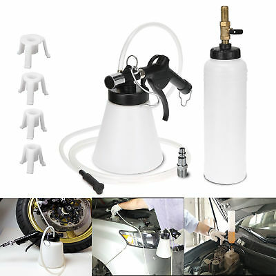 Pneumatic 1L Brake Fluid Bleeder Tool Kits Air Extractor Clutch Oil Bleeding Car