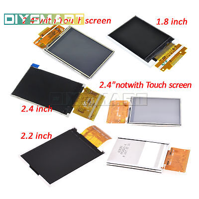 "1.8""/2.2""/2.4"" SPI Serial TFT LCD Screen 128X160/240X320 Touch Panel"