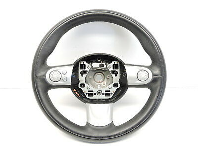 Bmw Mini One/cooper/s/d R56 Multi-Function Leather Sports Steering Wheel 2007-13