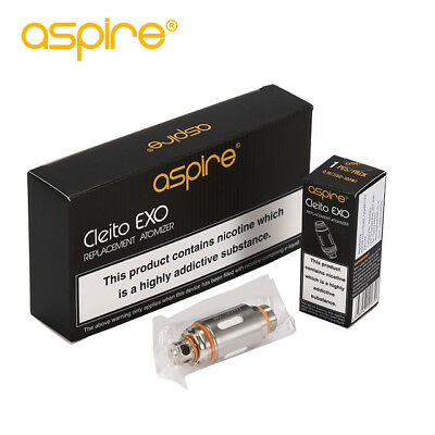 ASPIRE CLEITO EXO COIL Genuine Replacement Coil Heads 0.16ohm 1x 2x 3x 4x 5x