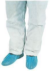 "Premier Polythene Overshoes, Blue, 14"", Pack of 100"