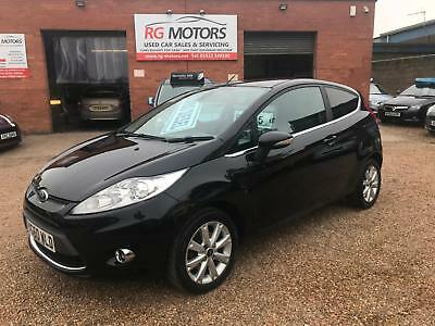 2010(60) Ford Fiesta 1.6 Zetec TDCi ( 95ps ) Black, **ANY PX WELCOME**