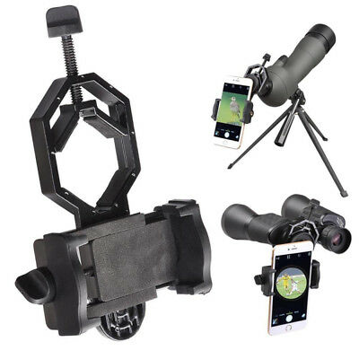 Smartphone Adapter Holder Mount Stand for Telescope Spotting Binoculars New