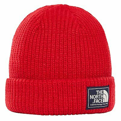 The North Face Capsule Salty Dog Unisex Headwear Beanie Hat - Tnf Red Rage