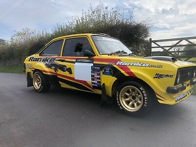 Ford Escort  Mk2 Sequential  Rally Car