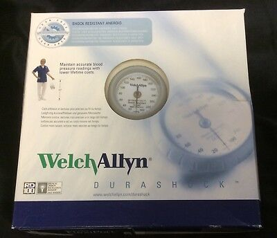 DS44-11C Welch Allyn DuraShock Aneroid Adult Cuff and Case New Free Shipping