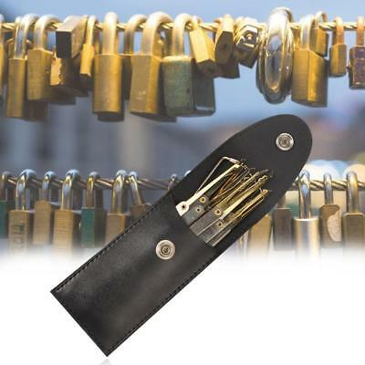 15X Practice Padlocks Unlocking Lock Pick Set Key Extractor Tool LockTraining