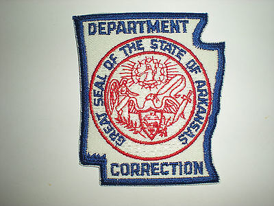 Arkansas State Department Of Corrections Patch
