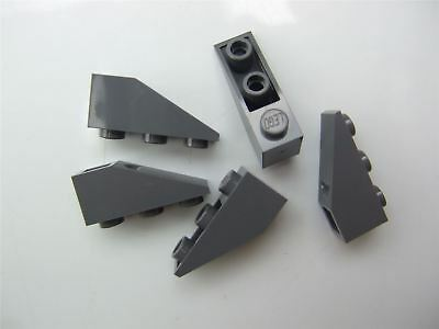 Parts /& Pieces 5 x Lego White ROOF TILE 1X3//25 degrees 428601