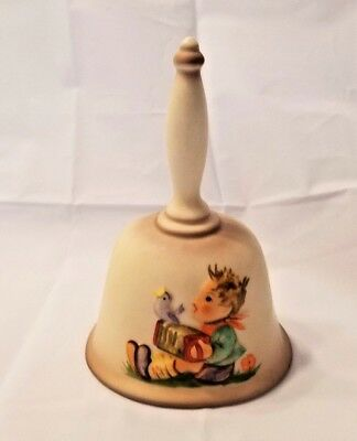 Mj Hummel Goebel W Germany Annual Bell In Bas Relief 1St Edition 1978 Let's Sing