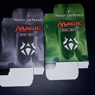 1x NISSA VS OB NIXILIS DECK BOXES -  MTG - Magic the Gathering