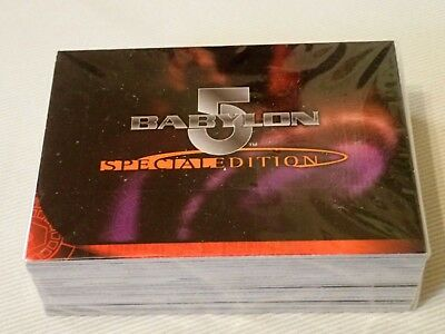 Babylon 5, Tradingcards, Special Edit.Shadow War, Complete Basic Set of 72 cards