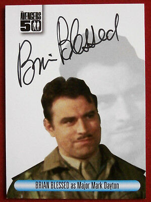 THE AVENGERS 50th - Brian Blessed - Autograph Card - Unstoppable 2012 AVBB