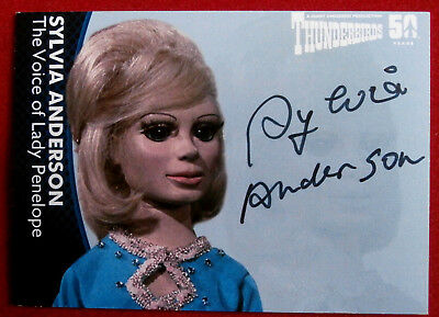 Thunderbirds - SYLVIA ANDERSON as Lady Penelope - Autograph Card - Unstoppable