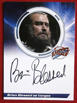 BLAKE'S 7 - BRIAN BLESSED O.B.E. as Vargas - Autograph Card - Unstoppable Cards
