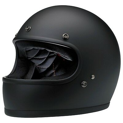 Biltwell Gringo ECE Motorcycle Helmet (2019) - Matt Black - All Sizes