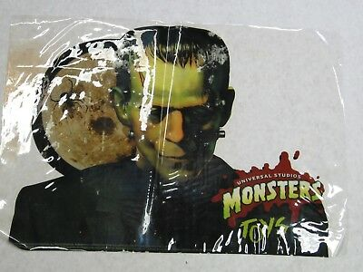 Universal Studios Monsters - Frankenstein - Burger King Window Cling from 1997