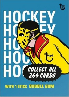 2018 Topps 80th Anniversary Wrapper Art Card #111 - 1974-75 Hockey