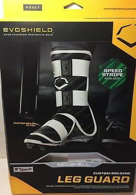 Evoshield Adult MLB Batter's Protective Leg Guard Baseball Softball Speed Stripe