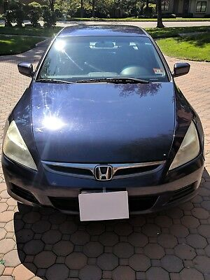 2006 Honda Accord SE 2006 HONDA ACCORD SE BLUE COLOR