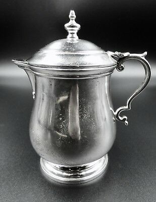 Paul Revere Silver Covered Cream Pitcher By Lunt Sterling