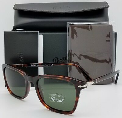 822fad05d5b NEW PERSOL sunglasses PO3192S 24 31 54 Tortoise Grey Green 3192 Italy  AUTHENTIC