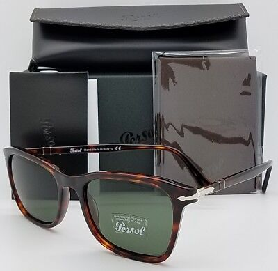 9e8db0fbc34 NEW PERSOL sunglasses PO3192S 24 31 54 Tortoise Grey Green 3192 Italy  AUTHENTIC