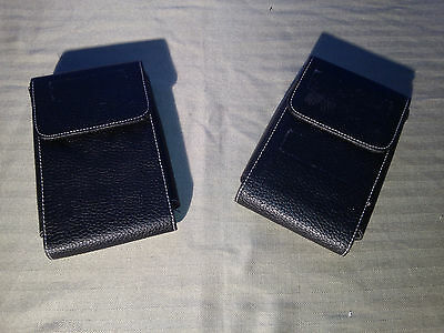 """lot of 2 Synthetic Leather Carrying Case for 3.5"""" Hard Drives"""