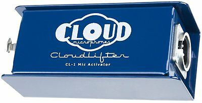 Cloud Microphones CL-1 Cloudlifter 1-Channel Mic Activator FREE 2DAY